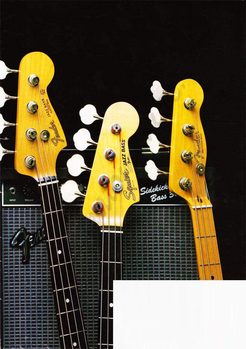 Fender Japan Katalog Twang 1984 JV Serie
