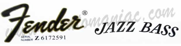 fender logo schriftzug von fender gitarren und b228ssen