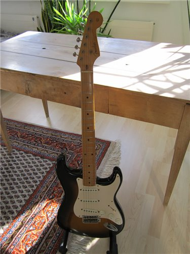 Fender Stratocaster 54 Cloth Wired USA Vintage PU
