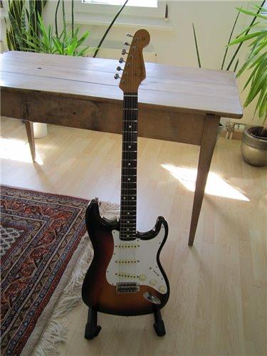 Fender Stratocaster 62 USA Pickups