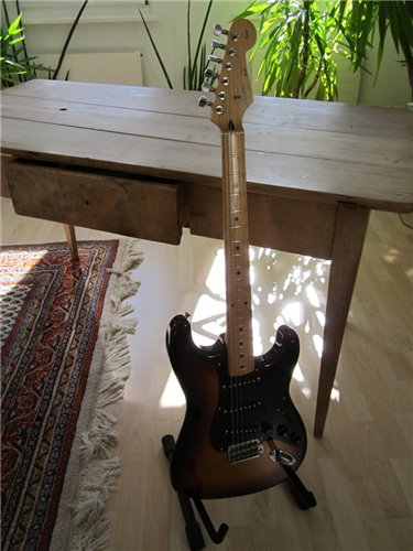 Squier Stratocaster 57 Silver Serie