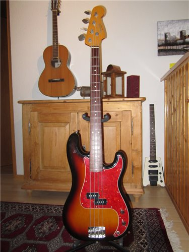 Fender Precision Bass JB62