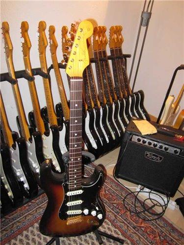 Fender Stratocaster ST62 SRV Style Gold